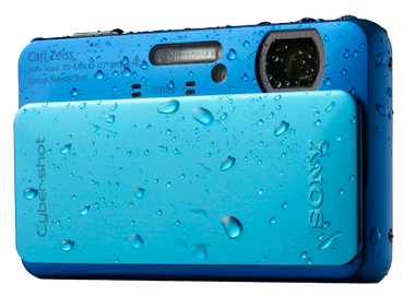 Slick product image of the Sony Cyber-shot DSC-TX20 L (L for Blue)