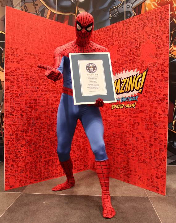 Spider-man Birthday Card -- 2707 signatures