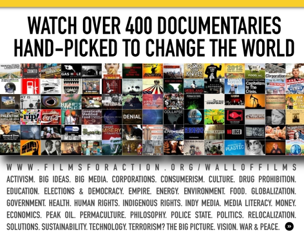 400 Documentaries Hand-Picked to Change the World