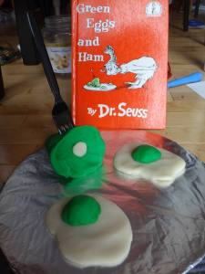 green eggs and ham storymob