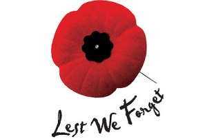 remembrance day poppy lest we forget
