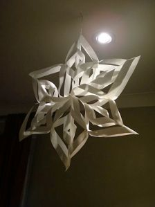 Large Snowflake Craft
